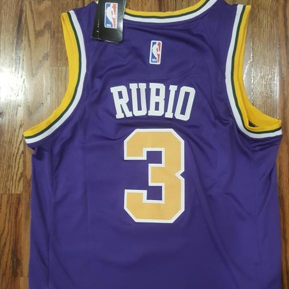 lowest price b02e1 fbe81 Utah Jazz purple throwback Swingman Jersey NWT